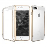Чехол Baseus Fusion Series Case Trans-gold для Apple iPhone 7 plus