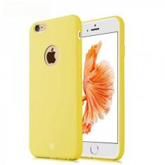 Чехол Baseus Mousse Case Yellow для Apple iPhone 6/6S