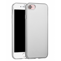 Чехол Hoco Premium Case 360' Protection Silver для Apple iPhone 7