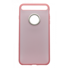 Чехол Rock Space Ring Holder Case Light Pink для iPhone 7