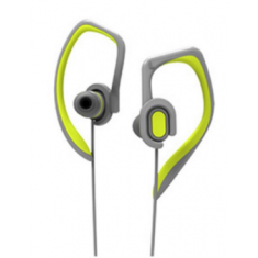 Наушники Rock Y7 Stereo Earphone dark grey + green for iPhone / iPad / iPod
