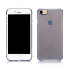 Чехол REMAX Crystal Series TPU Gel Case Blue for iPhone