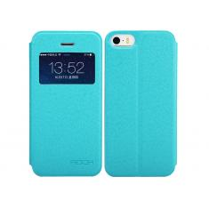 Чехол Rock Excel Series Blue для iPhone 5/5S