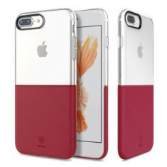 Чехол Baseus Half to half Case Red для Apple iPhone 7