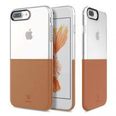 Чехол Baseus Half to half Case Brown для Apple iPhone 7